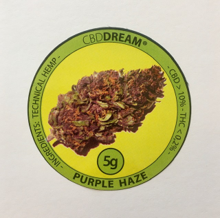 CBDream - Purple Haze 5g